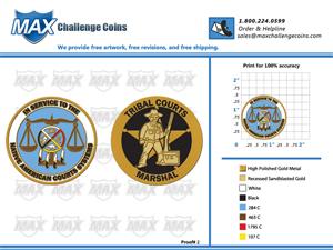 proof-2-Max Challenge Coins
