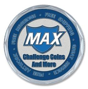 Max Challenge Coins-Artwork