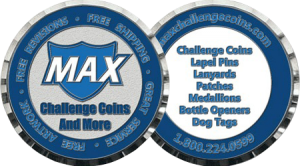 Custom Challenge Coins Can use for giving awards and these rewarded coins are not only use in military also can be given as award to anyone, who has done something challenging, These Custom Coins also called Custom Award Coins.