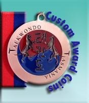 Custom Award Coins