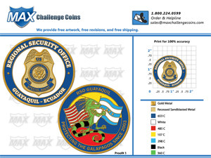 """Challenge Coins"""