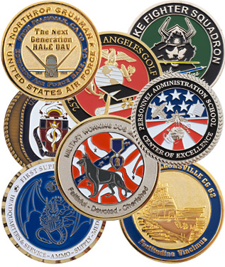 military-coins-collection
