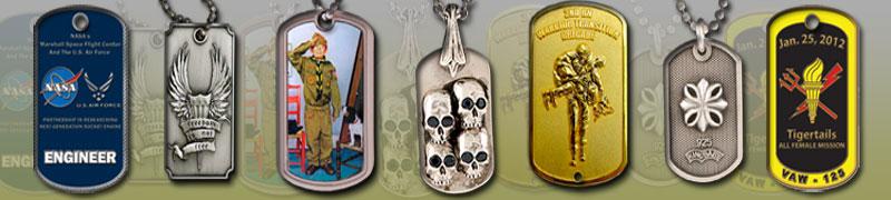 Custom memorial medallions